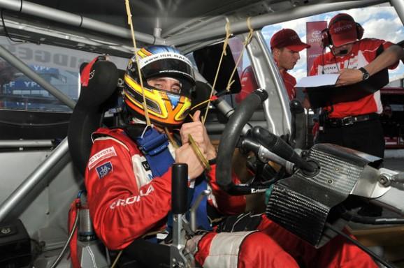 ¿Veremos en agosto a Esteba Guerrieri con el buzo rojo de Toyota?