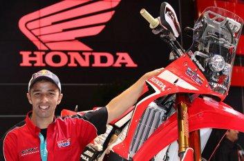 Helder Rodríguez, piloto oficial Honda para 2013